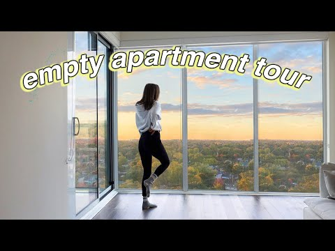 Empty Apartment Tour! 1 bedroom in Toronto! + WHY I LEFT LA