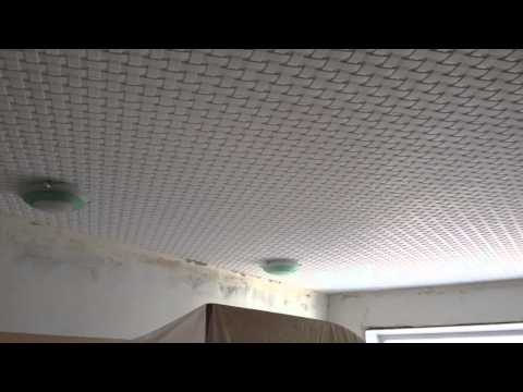 Потолок без швов в детской комнате. Плитка фирмы Формат.