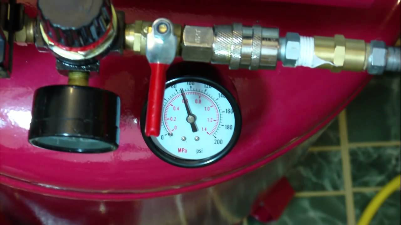 The Pressure Switch On Your Harbor Freight Air Compressor Youtube