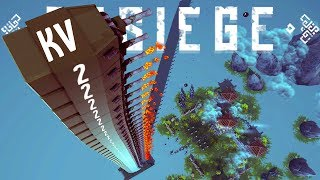 I Have Found the Strongest Weapon in Besiege – True Russian Bias - Besiege Best Creations