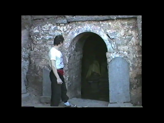 Sifu Walter Toch by BODHIDHARMA CAVE Shaolin Temple 1988