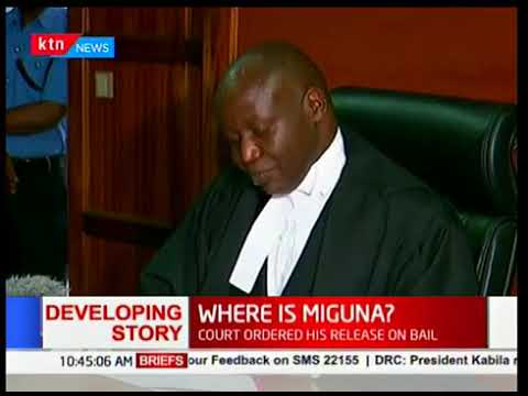 Judge Luka Kimaru orders Deputy DPP to appear in court to ascertain Miguna Migun's charges