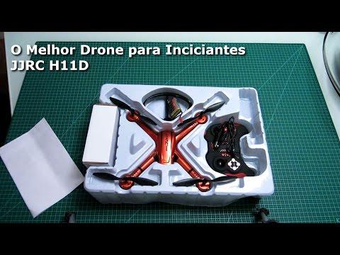 DRONE – O Melhor para Iniciantes – JJRC H11D