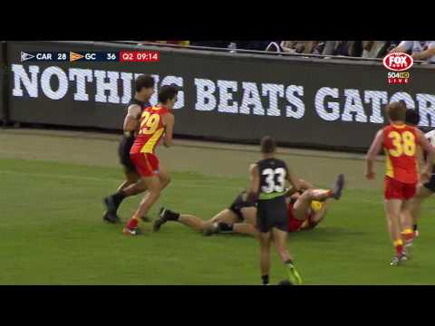 Round 4 AFL - Carlton v Gold Coast Suns Highlights