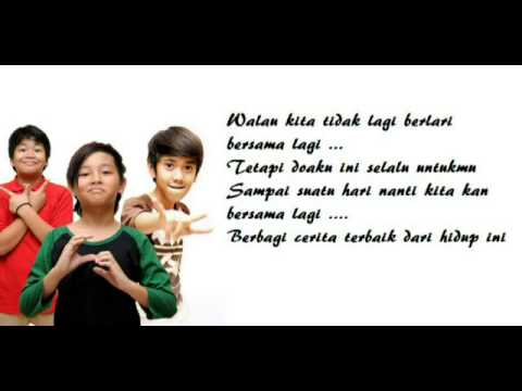 CJR 'LEBIH BAIK' - OST CJR THE MOVIE (LYRICS + PICTURES)