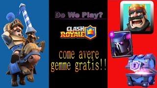Come avere gemme gratis su Clash Royale e Clash Of Clans