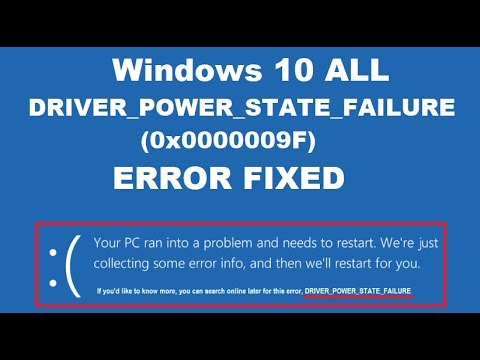 driver power state failure windows 8.1 alienware