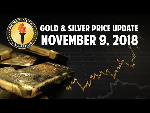 Silver & Gold Price Update - Nov 9 2018 + JP Morgan Silver Manipulation