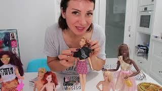 Çarkıfelekten Ne Çıkarsa Barbie Giyinme oyunları. Barbie Kombin Challenge (barbi). Bidünya Oyuncak🦄
