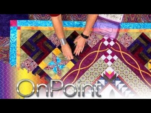 OnPoint Tutorials, Tips and Tours Ep. 205: Backing Fabric, Batting & Basting