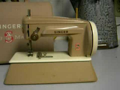 Little Tan Singer Machine