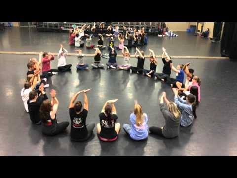 TTU Jazz Classes: body percussion by Kris Olson, music by Flynn Cohen
