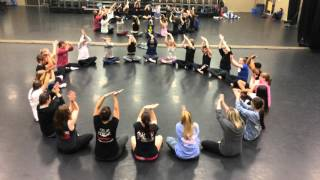 TTU Jazz Classes: body percussion by Kris Olson, music by Fl...