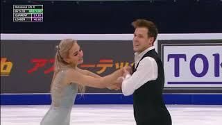 Синицина и Кацалапов Ритм танец на российском этапе Гран при по фигурному катанию Rostelecom Cup