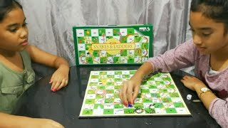 Play snakes and ladders board game | Board game for kids | Kids YouTube