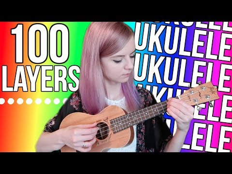 100 Layers of All Star on ukulele