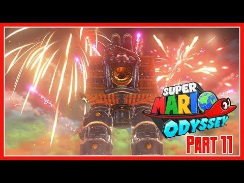 Super Mario Odyssey Part 11: Ruined & Bowser's Kingdom - 동영상