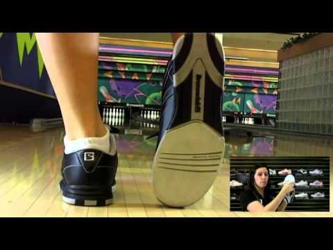 Brunswick Silk Black Women's Bowling Shoes