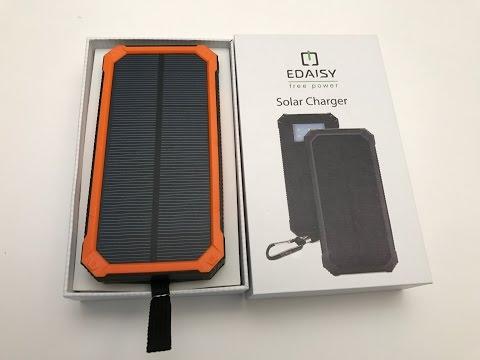 Solar Power Bank by Edaisy
