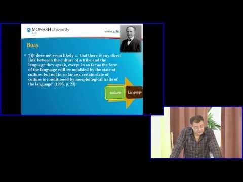Cultural Linguistics, Professor Farzad Sharifian