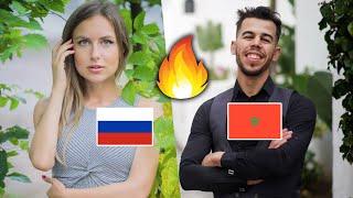 🇷🇺🇲🇦 علمتها المغربية وعلمتني  الروسية | لقاء مع الاعلامية الروسية ناستيا