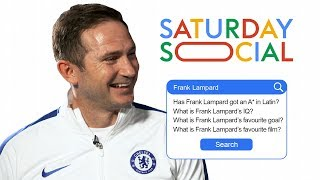 Frank Lampard Answers the Web's Most Searched Questions About Him | Autocomplete Challenge