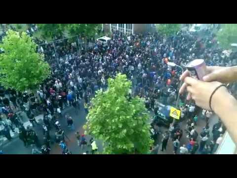 Steunbetuiging in Amsterdam voor Appie Nouri