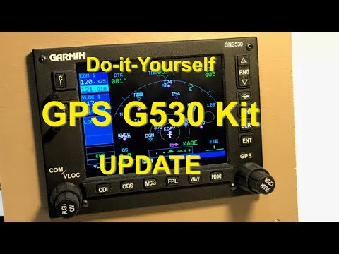 X-Plane 11 G530 Hardware GPS Kit