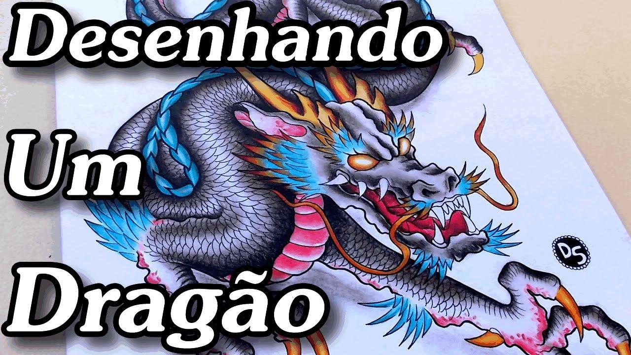 Desenho Dragao Oriental Desenhos Para Tatuagem Youtube