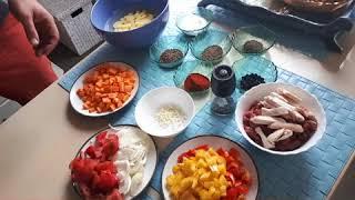 Лагман. Для конкурса узбекской кухни Сталика Ханкишиева