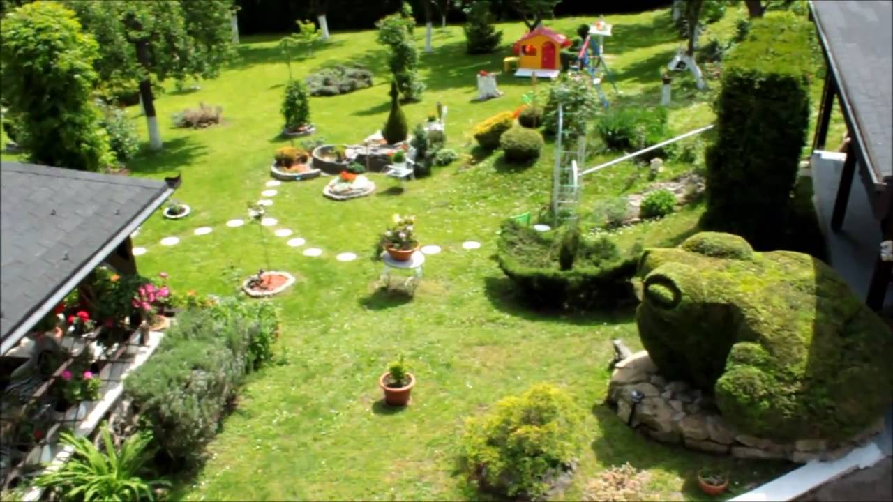 Zelena vrtna priča  Najljepši vrt u Hrvatskoj - YouTube