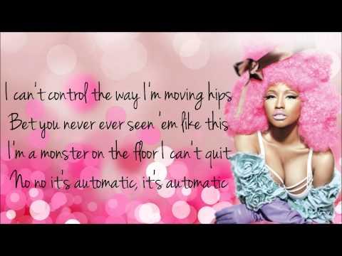 Nicki Minaj - Automatic Lyrics Video