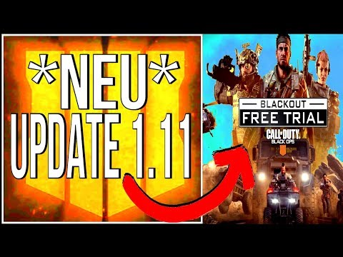 BO4 UPDATE 1.11 (deutsch)! Blackout KOSTENLOS, Perks Verstärkt, Alle Patch Notes!