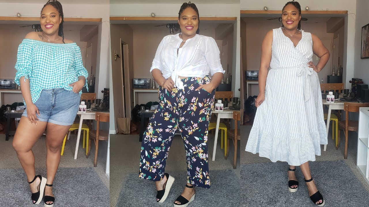 c561482a12bc LANE BRYANT PLUS SIZE Try On Haul  Vacation Vibes!  Plus Size Fashion. A Thick  Girl's Closet