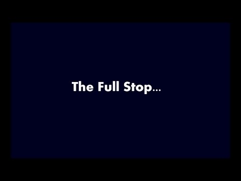 The Full Stop । A Film by English Department Bath 5