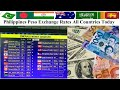 Today philippines currency exchange Rates All Countries