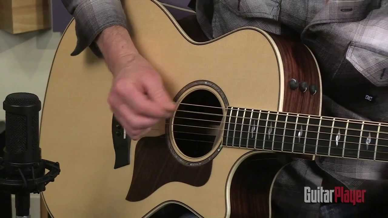 Taylor 814ce Acoustic Electric Guitar Youtube
