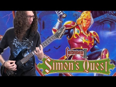 Castlevania II BLOODY TEARS - Metal Cover || ToxicxEternity