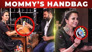 Vj Anjana's Mommies Handbag Secret Revealed | What's Inside The Handbag