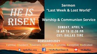 He is Risen - Dr. Leslie Verghese / Stanley George
