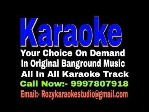 Aasman Pe Likh Doon Naam Tera Karaoke - Ek Jaan Hain Hum { 1983 } Sabbir Kumar & Asha Bhosle Track