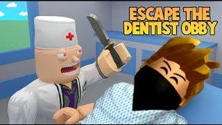 Escape the dentist obby Roblox (TÜRKÇE) disciden kaçiş