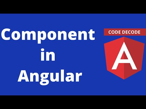 Introduction to components || Angular 8 thumbnail