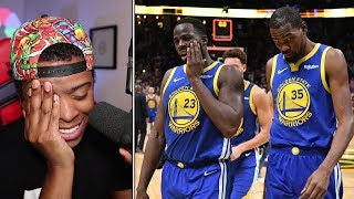 My Reaction to the Kevin Durant vs Draymond Green Drama, Warriors in Trouble, Durant Still Mad
