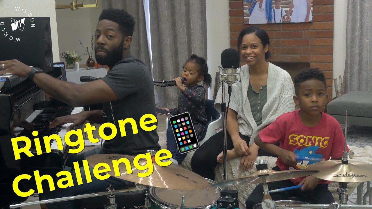 Ringtone Challenge! We Make A Song Out Of Random Ringtones! | Wilson Family | News Break