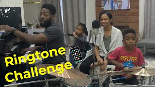 Ringtone Challenge! We make a song out of random ringtones! | Wilson Family