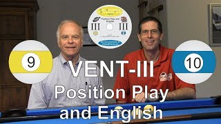 VENT III - Position Play and English - Video Encyclopedia of Nine-ball and Ten-ball - DVD