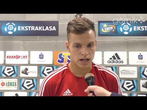 Adrian Gryszkiewicz o meczu z Wisłą Płock