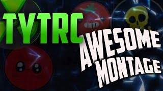 #TYTRC INSANE AGARIO MONTAGE 2016//ALL TRICKS//REALTIME SPLITRUN