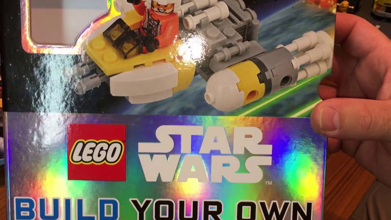 Lego Review on set 11912 Star Wars Y-wing with book review with comparison.